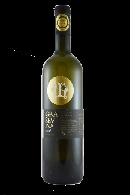 Graševina 2008 vinarije Mihalj iz Kutjeva najbolje bijelo hrvatsko vino sa nagradom Studec te šampion Vinovite